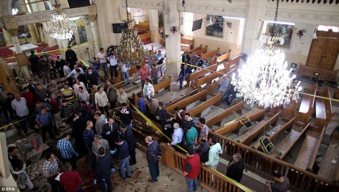Khoảng 10% dân số Ai Cập là người Ki tô giáo và là mục tiêu của tổ chức khủng bố IS. (Ảnh: EPA)
