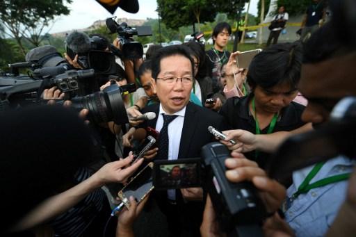 Luật sư Gooi Soon Seng của nghi phạm Indonesia. (Ảnh: Star)