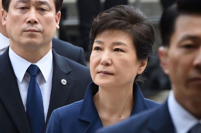 Cựu Tổng thống Hàn Quốc Park Geun-hye. (Ảnh:Daily News)