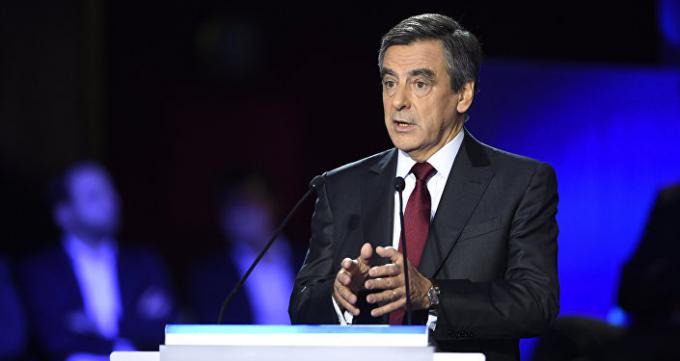 Ứng cử viên tổng thống Pháp Fillon.