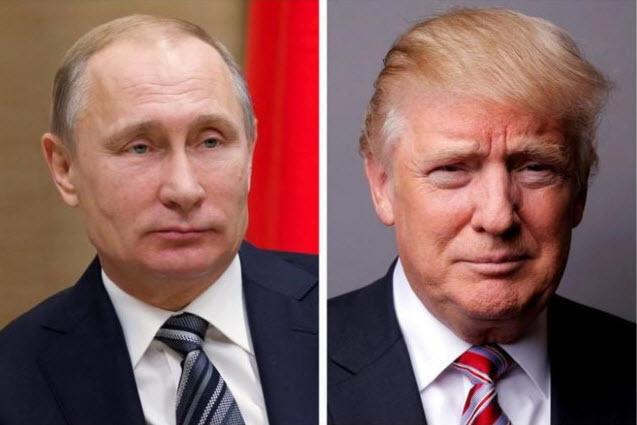Tổng thống Mỹ Donald Trump và người đồng cấp Nga Vladimir Putin. (Ảnh: Reuters)