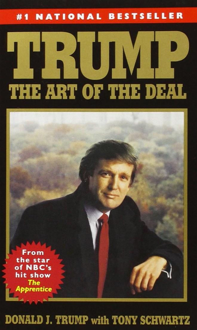 """Trang bìa cuốn sách """"The Art of the Deal"""" (Nghệ thuật đàm phán) của Donald Trump."""