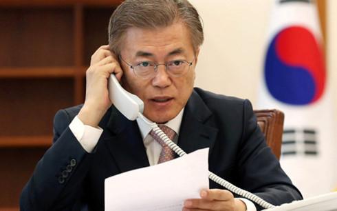 Tổng thống Hàn Quốc Moon Jae-in. (Ảnh: Reuters)
