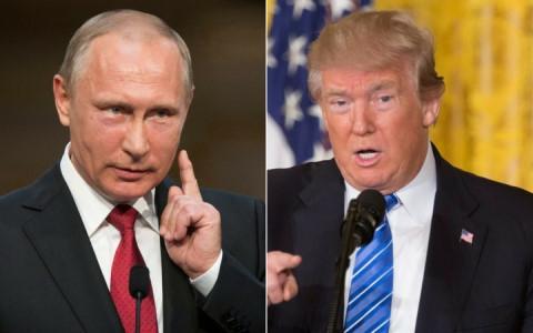 Tổng thống Nga Putin (trái) và người đồng cấp Mỹ Donald Trump sẽ có rất nhiều điều cần trao đổi trong cuộc gặp lần này. (Ảnh: Reuters)