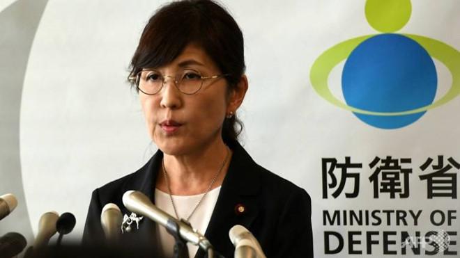 Bộ trưởng Quốc phòng Nhật Bản Tomomi Inada đã từ chức sau gần một năm nắm quyền. Ảnh: AFP.