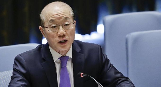 Đại sứ Trung Quốc tại Liên Hợp Quốc. (Ảnh: AP)