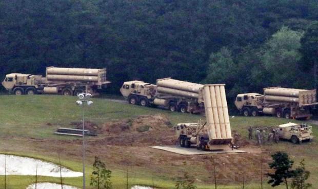 Hàn Quốc ngày 7/9 triển khai 4 bệ phóng của hệ thống THAAD.