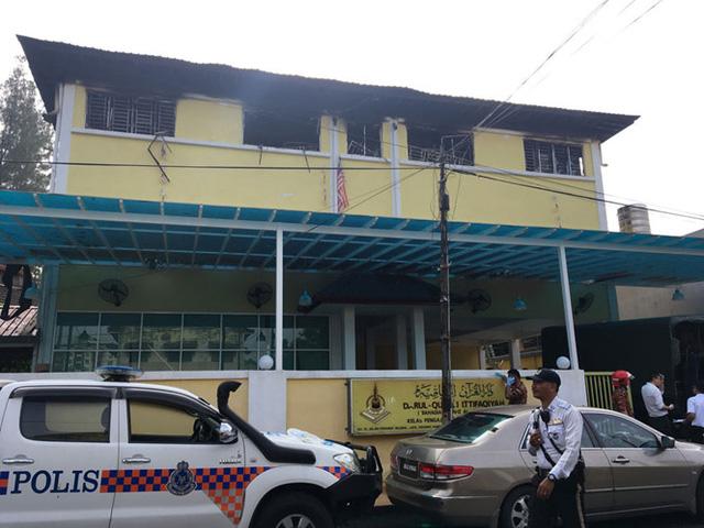 Hiện trường vụ hỏa hoạn (Ảnh: Reuters)