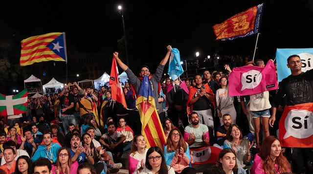 Kêt quả trưng cầu cho thấy 90% cử tri Catalonia ủng hộ tách khỏi Tây Ban Nha. (Ảnh: Reuters)