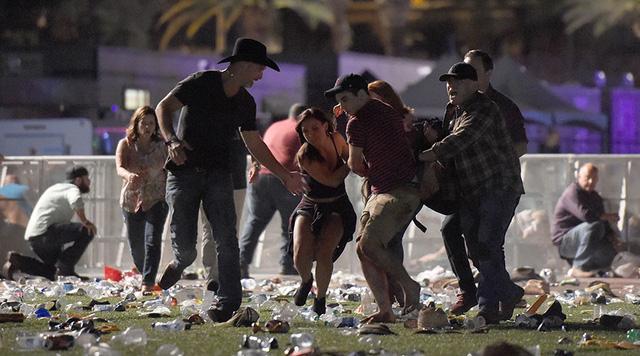 Vụ nổ súng khiến hàng chục người thương vong. (Ảnh: Getty)