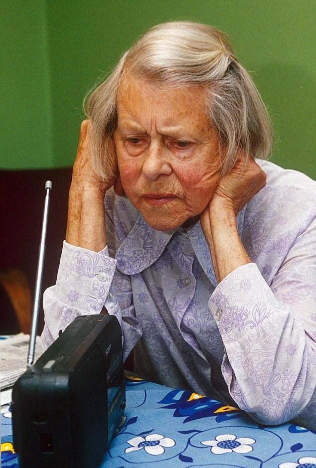 """Melita Norwood ở tuổi """"gần đất xa trời""""."""