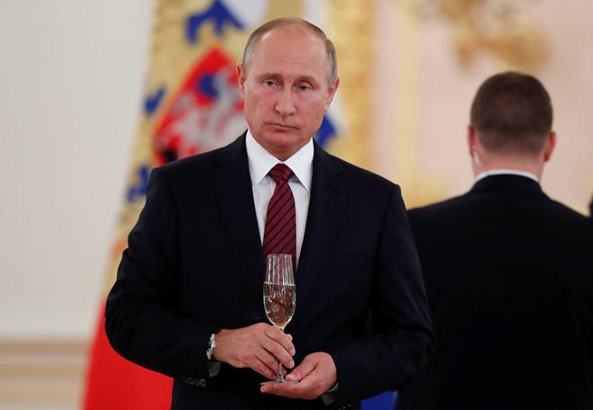 Tổng thống Nga Vladimir Putin. (Ảnh:Reuters)