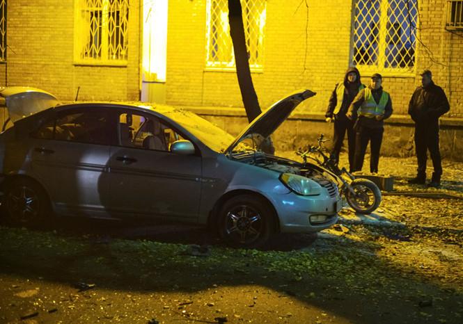 Hiện trường xảy ra vụ nổ. (Ảnh: Reuters)