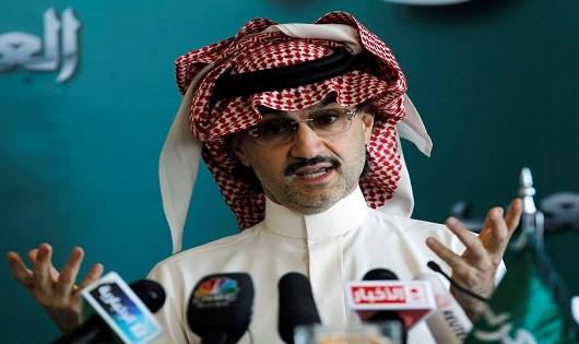 Hoàng tử Alwaleed bin Talal.