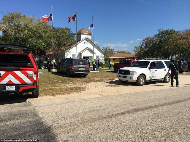 Nhà thờ nơi xảy ra vụ xả súng.