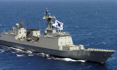 Một tàu hải quân Hàn Quốc. Ảnh: National Interest