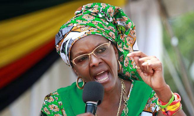 Bà Grace Mugabe, đệ nhất phu nhânZimbabwe. Ảnh:premiumtimesng.