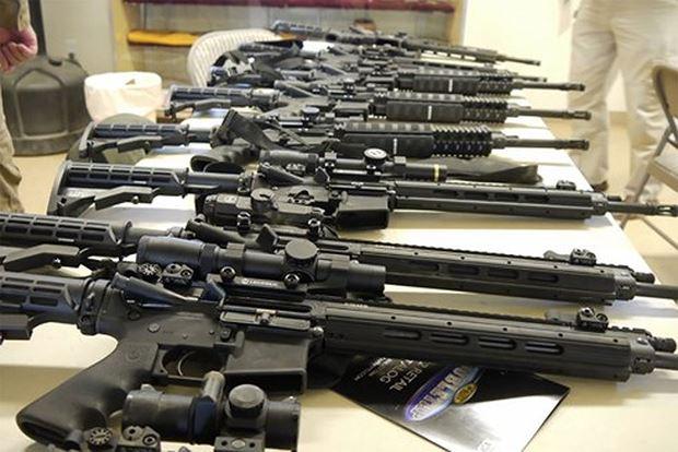 Xuất khẩu vũ khí. Ảnh: Worldbulletin