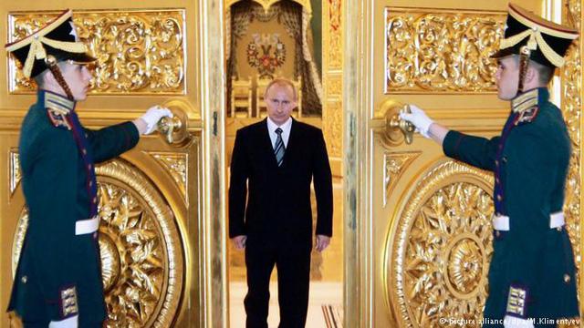 Đương kim Tổng thống Vladimir Putin (Ảnh: DW)