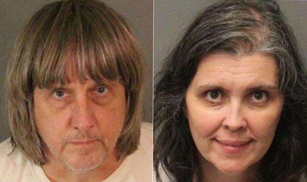 Cặp vợ chồngDavid Allen Turpin, 57 tuổi và Louise Anna Turpin, 49 tuổi.