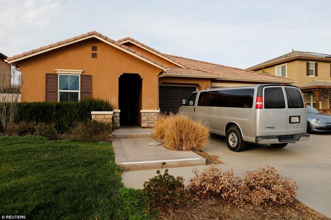 Ngôi nhà nơi phát hiện ra 13 nạn nhân bị giam giữ.