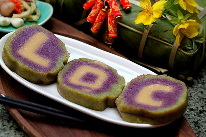 Món bánh Tét được người Nam ưa chuộng trong dịp tết