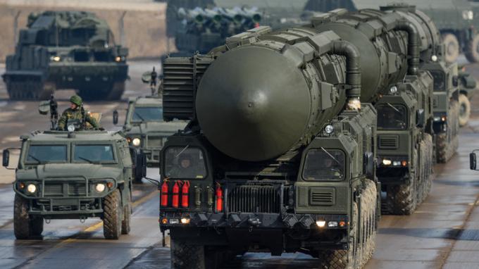 Tên lửa đạn đạo liên lục địa của Nga. (Ảnh: Sputnik)
