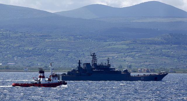 Một tàu Nga ở Địa Trung Hải (Ảnh minh họa: Reuters)