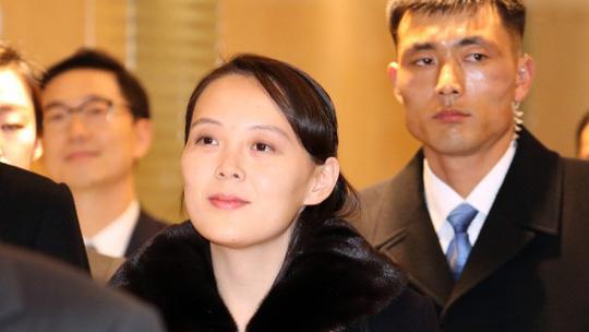 Kim Yo-jong, em gái nhà lãnh đạo Triều Tiên Kim Jong-un.