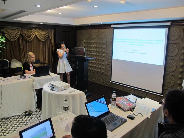 TS Chu Thị Xuân trong buổi thuyết trình