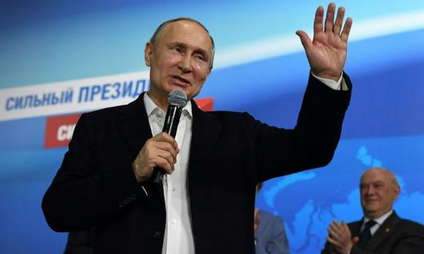 Tổng thống Putin.