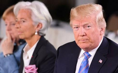Tổng thống Trump tại Hội nghị thượng đỉnh G7 tại Canada (Ảnh: Getty Images)