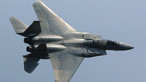 Tiêm kích F15 của quân đội Mỹ.