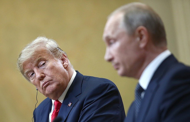 Tổng thống Mỹ Donald Trump và Tổng thống Nga Vladimir Putin (Ảnh: Reuters)