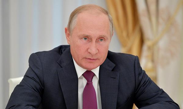 Tổng thống Putin. (Ảnh:TASS)