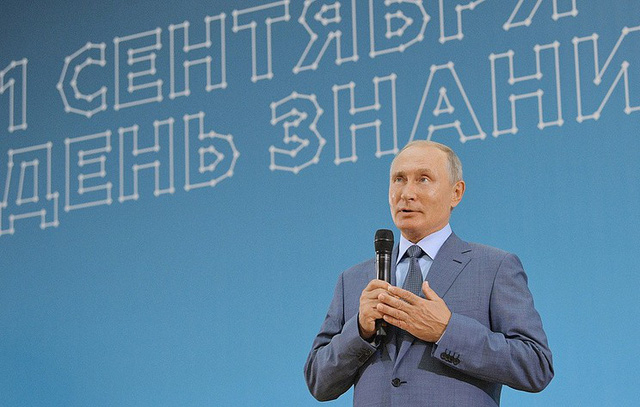 Tổng thống Putin (Ảnh: TASS)