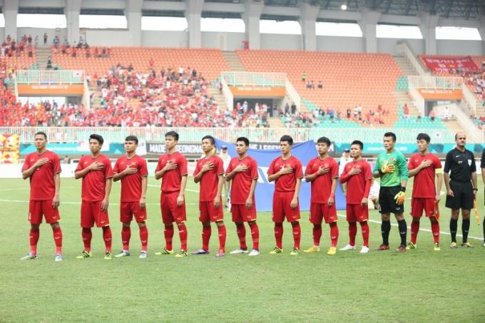 Vai trò của các cựu binh ở U23 Việt Nam là không thể chối cãi. Ảnh S.N