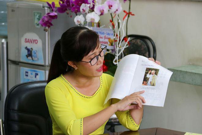 """Cô Trầm Thị Khánh Ly (GV Trường Tiểu học Ngô Quyền) giải thích cụ thể về quy trình 4 việc trong phần dạy """"Tiếng"""""""