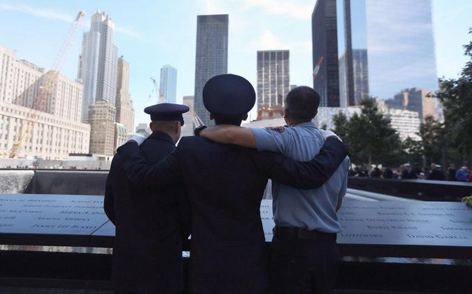 Nơi từng tọa lạc hai tòa tháp WTC cũ đã trở thành một khu tưởng niệm đặc biệt của New York.