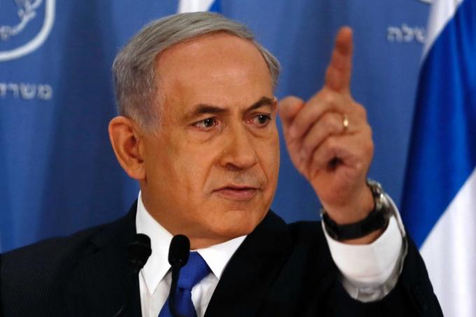 Thủ tướng IsraelBenjamin Netanyahu.