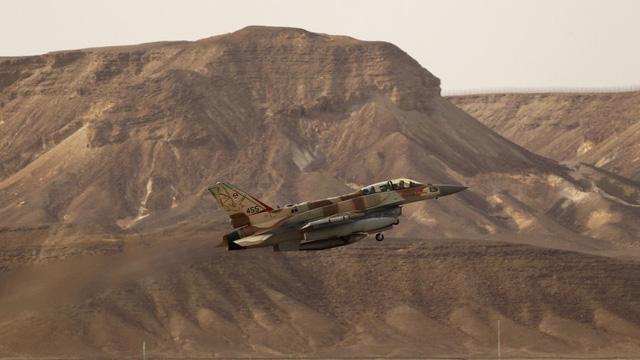 Máy bay F-16 của Israel. (Ảnh: Reuters)