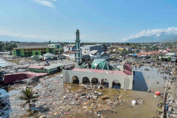 Chùm ảnh: Indonesia bị