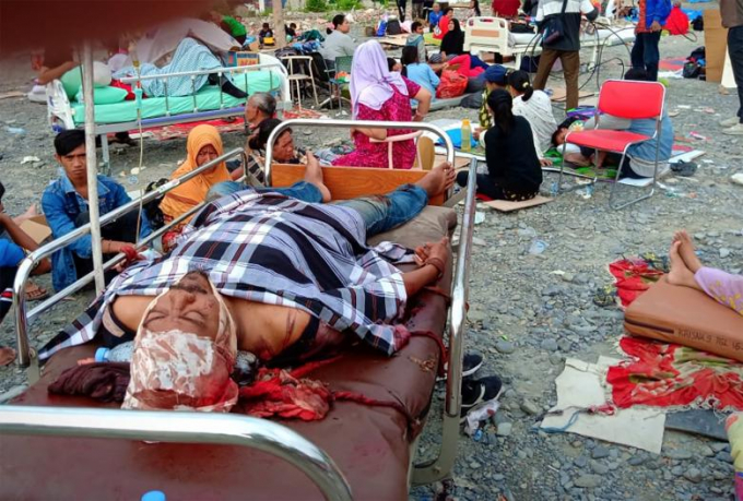 Giới chức địa phương cảnh báo con số thương vong sẽ còn tăng khi công tác tìm kiếm cứu hộ các nạn nhân mất tích, bị chôn vùi trong các đống đổ nát vẫn tiếp tục.