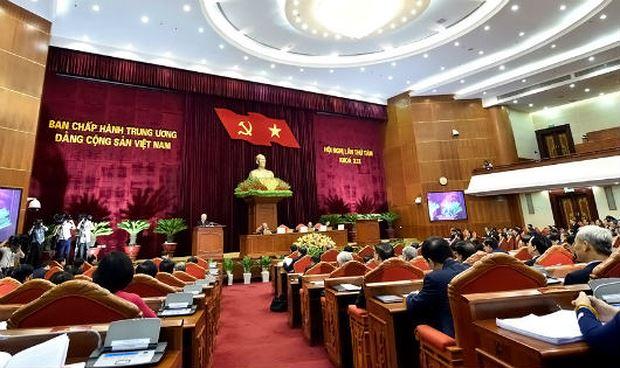 Hội nghị TƯ 8 khai mạc hôm 2/10.