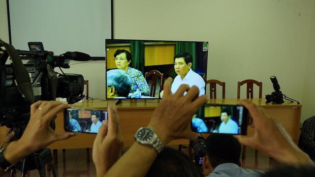 Chủ tịch UBND TPHCM Nguyễn Thành Phong, Chủ tịch HĐND TPHCM Nguyễn Thị Quyết Tâm tại cuộc gặp gỡ