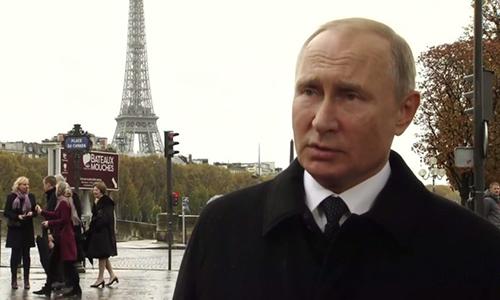 Tổng thống Nga Vladimir Putin. (Ảnh:RT).
