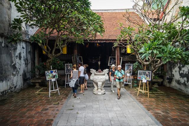 Đình Kim Ngân nơi sẽ diễn ra tọa đảm về Tổ nghề ở Việt Nam và triển lãm một số nghề truyền thống.