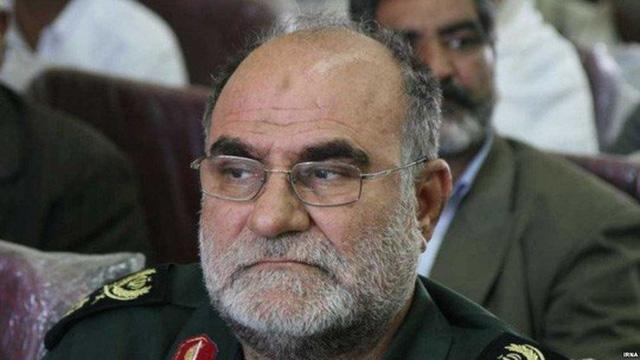 Tướng Ghodratollah Mansouri. Ảnh: IRNA