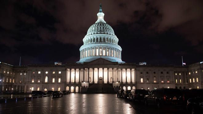 Tòa nhà quốc hội Mỹ ở Washington D.C. (Ảnh: AFP)