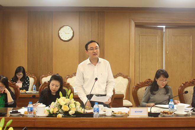 Phó Vụ trưởng Vụ Phổ biến, giáo dục pháp luật Phan Hồng Nguyên mong đẩy mạnh phổ biến, giáo dục pháp luật trong trường học